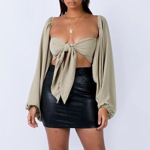 Bow Wrap Top